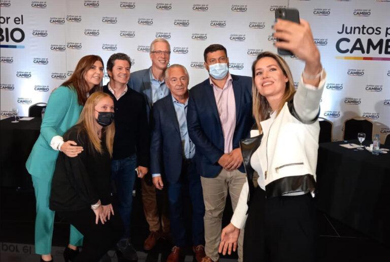 Con Losada, Juntos por el Cambio reunió a sus candidatos del país en una foto de unidad