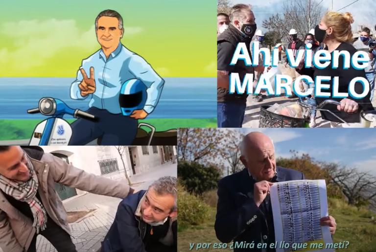 Jingles y spots de la disparatada campaña antes de las Paso en Rosario y Santa Fe