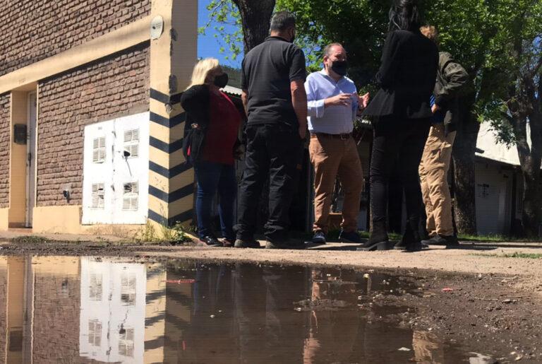 Vecinales de Empalme Graneros y Bicentenario reclaman arreglo urgente de calles